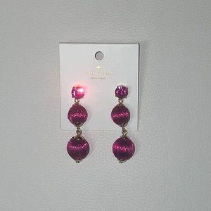 Kate Spade Pink Drop Earing